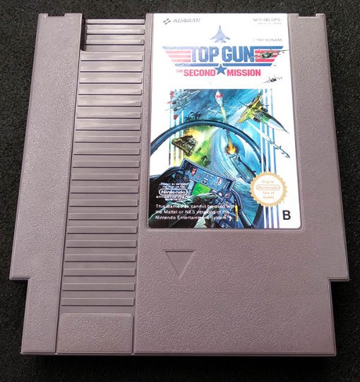 Top Gun: The Second Mission CART NES
