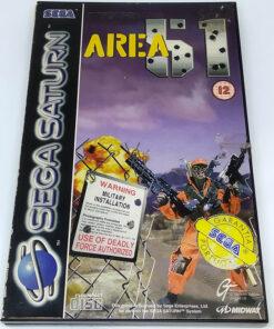 Area 51 SEGA SATURN