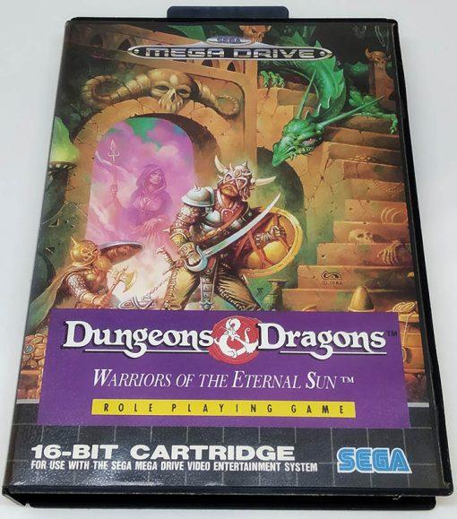 Dungeons & Dragons: Warriors of the Eternal Sun MEGA DRIVE