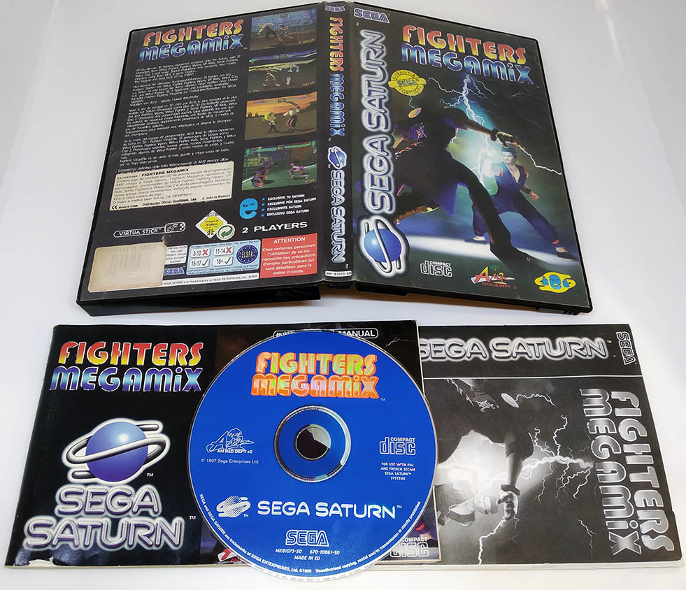 Fighters Megamix SEGA SATURN (Seminovo)