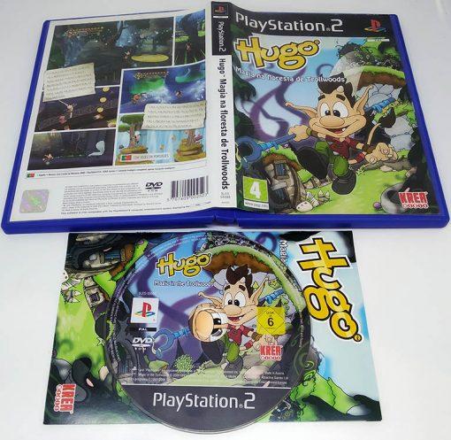 Hugo: Magia na Floresta de Trollwoods PS2
