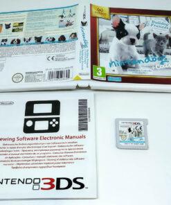 Nintendogs + Cats: Bulldog Francês 3DS Selects