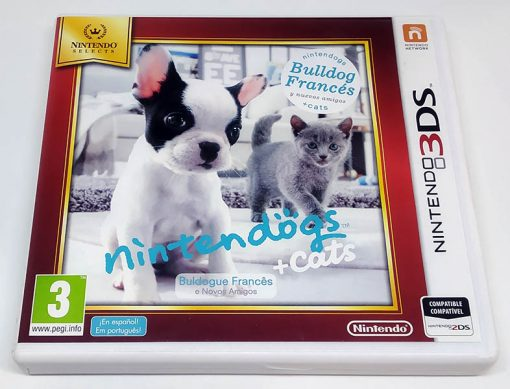 Nintendogs + Cats: Bulldog Francês 3DS Selects