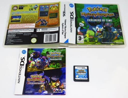 Pokémon Mystery Dungeon: Explorers of Time NDS