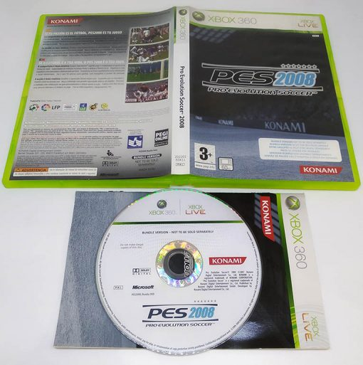 Pro Evolution Soccer 2008 - Bundle Copy X360