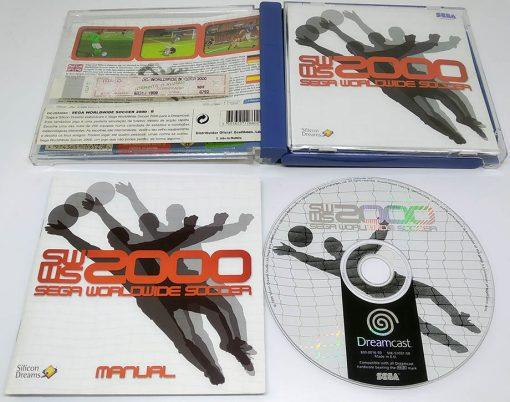 Sega Worldwide Soccer 2000 DREAMCAST