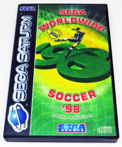 Sega Worldwide Soccer 98 Club Edition SEGA SATURN