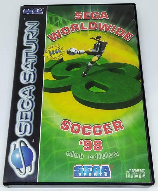 Sega Worldwide Soccer 98 Club Edition SEGA SATURN