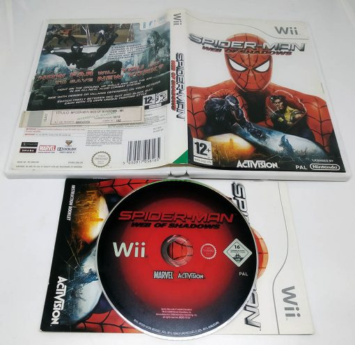 Spider-Man: Web of Shadows WII