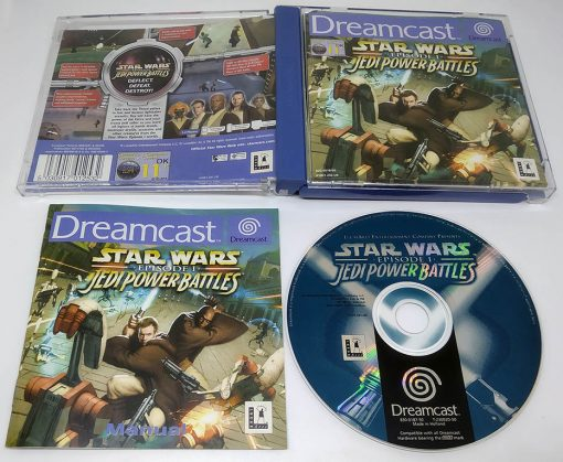 Star Wars Episode 1: Jedi Power Battles DREAMCAST