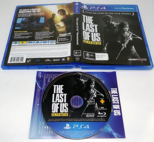 The Last of Us Remastered EN PS4
