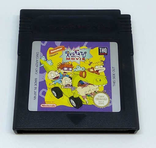 The Rugrats Movie CART GAME BOY
