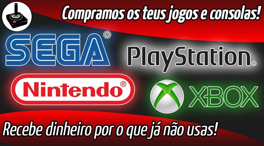 Compra de Jogos e Consolas