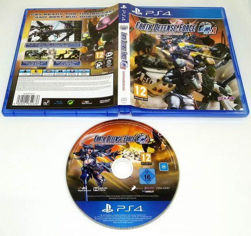Earth Defense Force 4.1: The Shadow of New Despair PS4