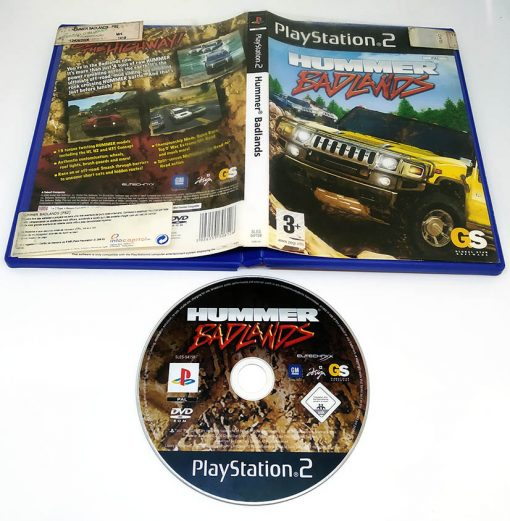 Hummer Badlands PS2