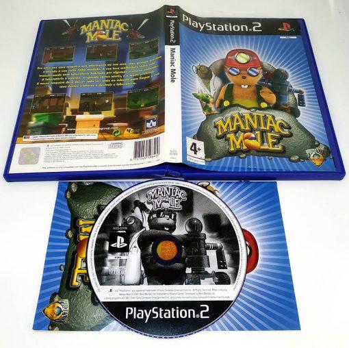 Maniac Mole PS2