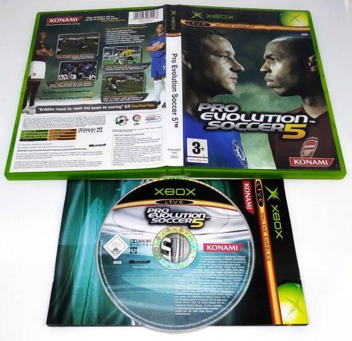 Pro Evolution Soccer 5 XBOX