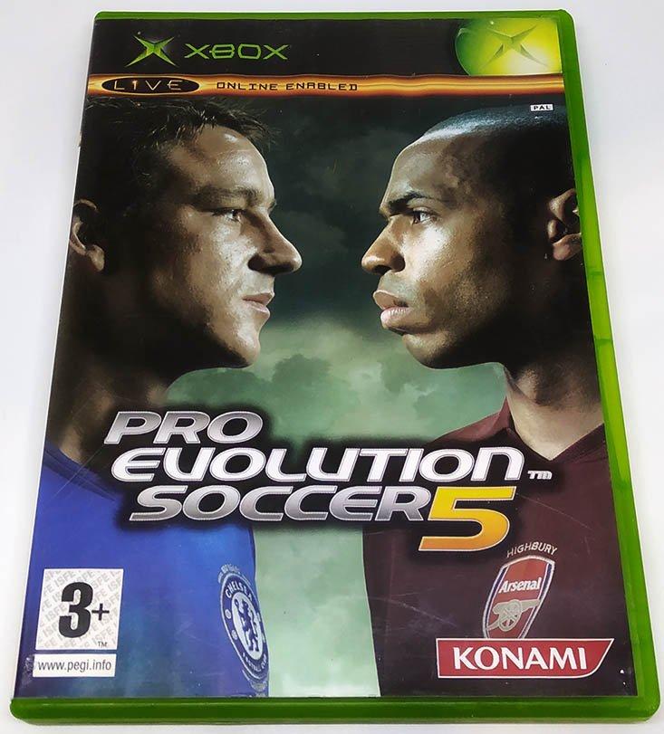 pro evoltuion soccer 5