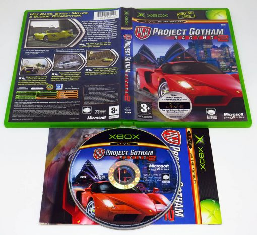 Project Gotham Racing 2 XBOX