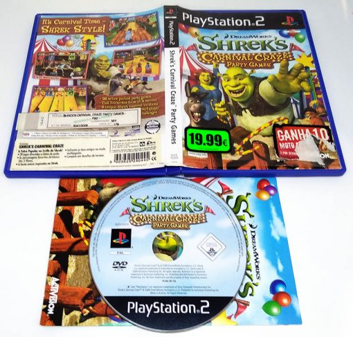 Shrek's Carnival Craze Party Games PS2