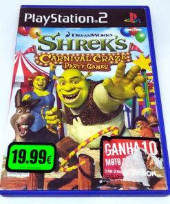 Shrek's Carnival Craze Party Games PS2