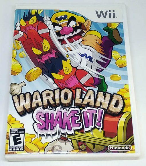 Wario Land: Shake It! WII