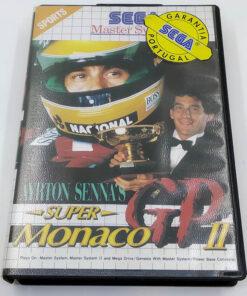 Ayrton Senna's Super Monaco GP II MASTER SYSTEM