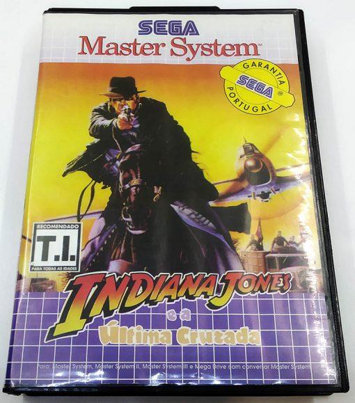 Indiana Jones e a Última Cruzada (Portuguese Purple) MASTER SYSTEM