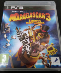 Madagascar 3: Europe's Most Wanted PS3