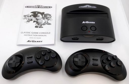 Consola Usada Mega Drive ATGames 80 Jogos