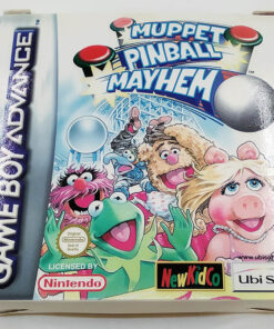 Muppet Pinball Mayhem GAME BOY ADVANCE