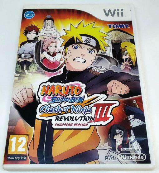 Naruto Shippuden: Clash of Ninja Revolution III - European Edition WII
