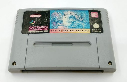 Power Rangers: The Fighting Edition CART SNES