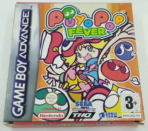 Puyo Pop Fever GAME BOY ADVANCE