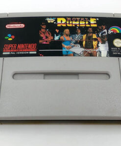WWF Royal Rumble CART SNES