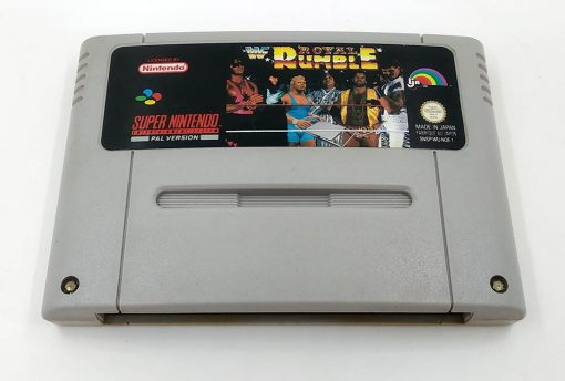 WWF Royal Rumble CART SNES