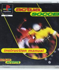 Actua Soccer PS1
