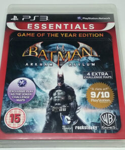 Batman Arkham Asylum - Game of the Year Edition PS3