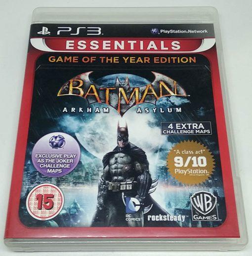 Batman Arkham Asylum - Game of the Year Edition PS3