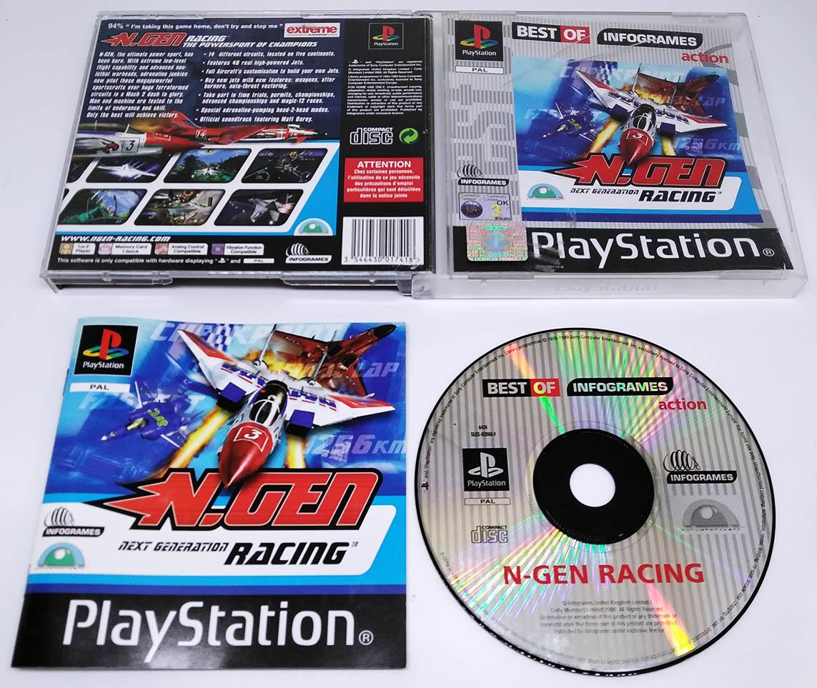 N-Gen Racing PS1 Best Of (Seminovo)