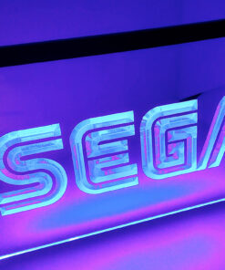 SEGA - Placa Decorativa LED Iluminada MERCH