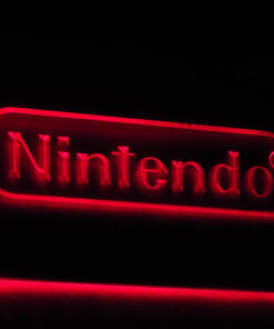 Nintendo - Placa Decorativa LED Iluminada MERCH