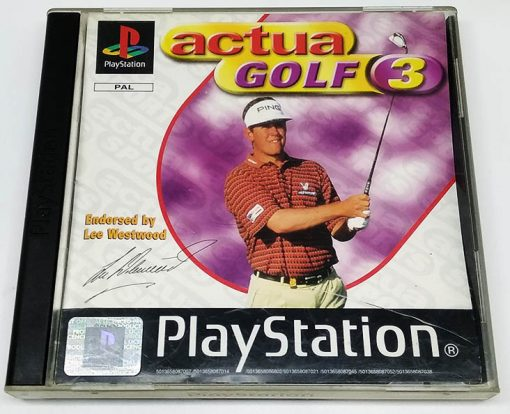 Actua Golf 3 PS1