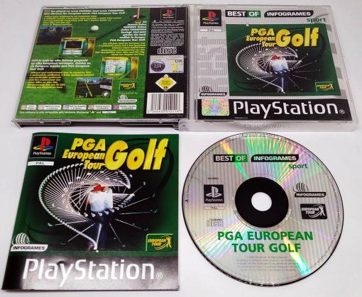 PGA European Tour Golf PS1