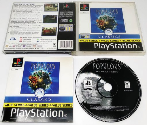 Populous: The Beginning PS1