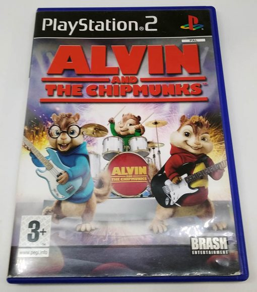 Alvin and the Chipmunks PS2
