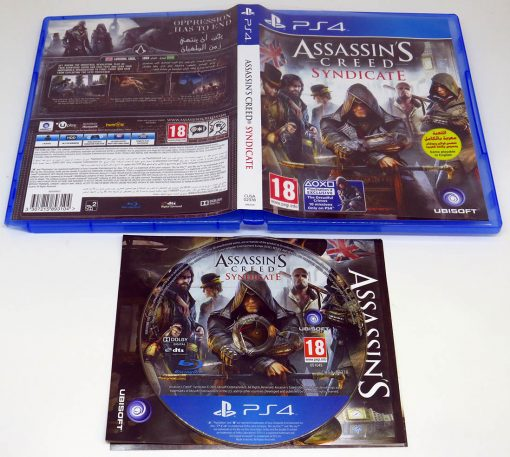 Assassin's Creed: Syndicate AR PS4