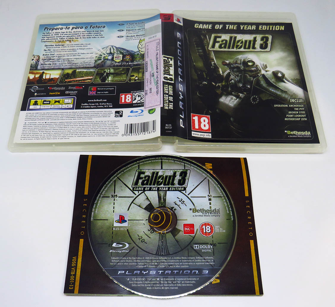 Fallout 3: Game of the Year Edition | PlayStation 3 | GameStop
