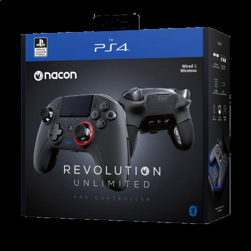 Comando novo para PS4 Nacon Revolution Unlimited Pro Controller