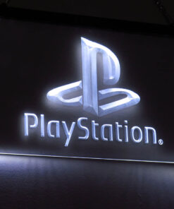 PlayStation - Placa Decorativa LED Iluminada MERCH